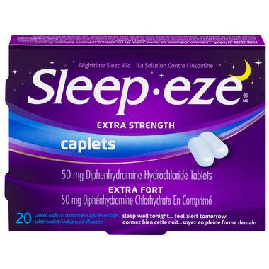 Sleep-Eze D Extra Strength