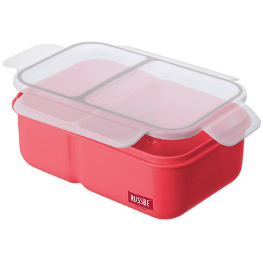Russbe Inner Seal 2 Compartment Bento Grapefruit