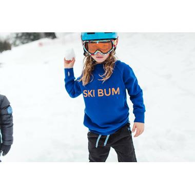 BIRDZ Children & Co. Ski Bum Sweatshirt Blue