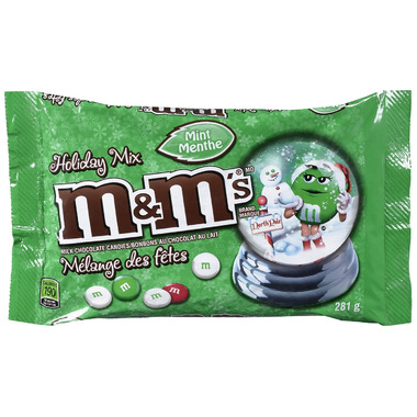 Buy M M S Milk Chocolate Mint Holiday Mix At Well Ca Free Shipping 35 In Canada