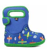 Bogs Baby Waterproof Boots Planes Blue Multi