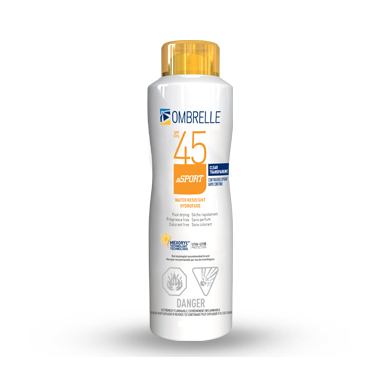 Ombrelle Sport Clear Continuous Spray SPF 45