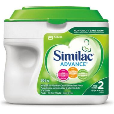 Similac Advance Step 2 Infant Formula Powder