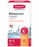 Wampole Melatonin Liquid Natural Peach Flavor