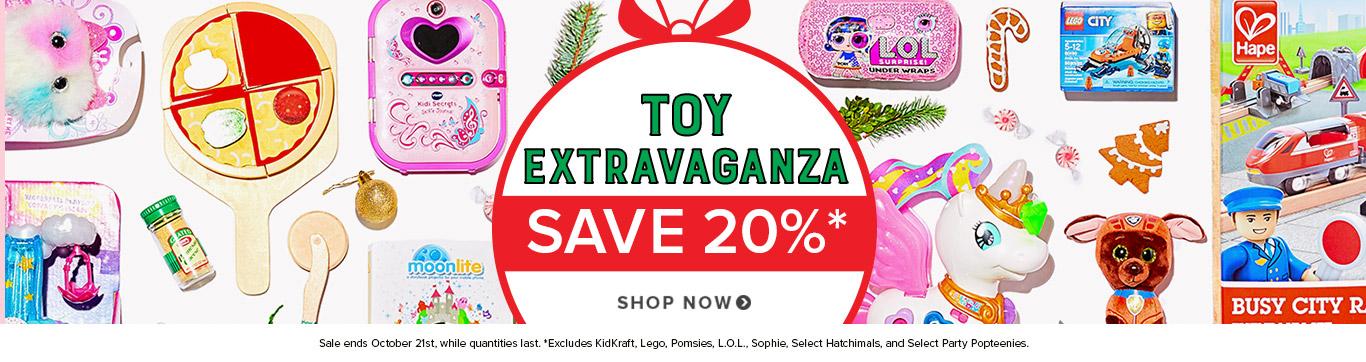 Toy Extravaganza - Save 20%