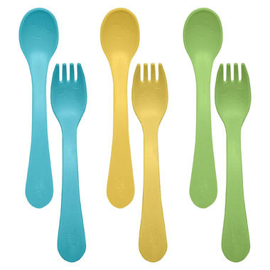 Green Sprouts Sproutware Feeding Fork and Spoon
