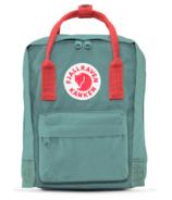 Fjallraven Kanken Backpack Frost Green & Peach Pink