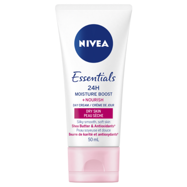 Nivea Essentials 24h Moisture Boost + Nourish Day Cream for Dry Skin