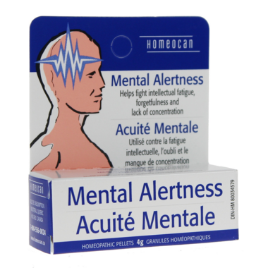 Homeocan Mental Alertness Pellets