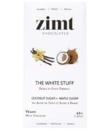 Zimt Chocolates The White Stuff Vegan White Chocolate