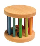 Grimm's grande roue à roulettes en bois avec cloches