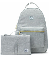 Herschel Supply Nova Sprout Backpack Light Grey Crosshatch