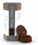 Real Treat Organic Double Dark Chocolate with a Twist Cookies