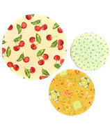Mind Your Bees Large Ripe Set Beeswax Food Wraps, 5 piece