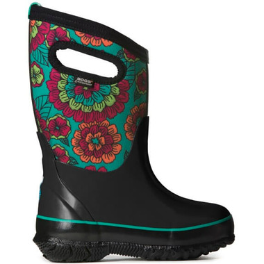 Bogs Classic Kids\' Insulated Boots Pansies