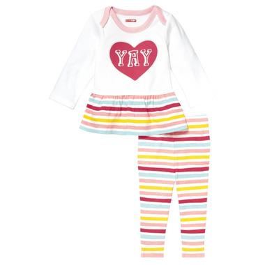 Skip Hop Baby Says Tunic & Legging Set Yay