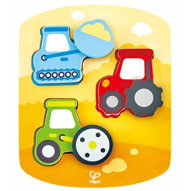Hape Toys Dynamic Construction Puzzle