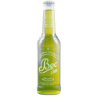 Bec Organic Maple Syrup Soda Lime