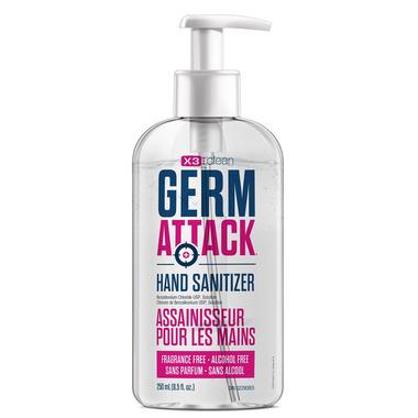 X3 Clean Germ Attack Hand Sanitizer Foam