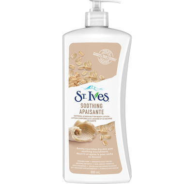 St. Ives Naturally Soothing Oatmeal & Shea Butter Body Lotion