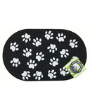 Ore Pet Jumbo Paws Recycled Rubber Pet Placemat