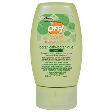 OFF! FamilyCare Botanicals Insect Protection Lotion