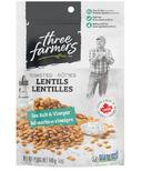 Three Farmers Roasted Lentils Sea Salt & Vinegar