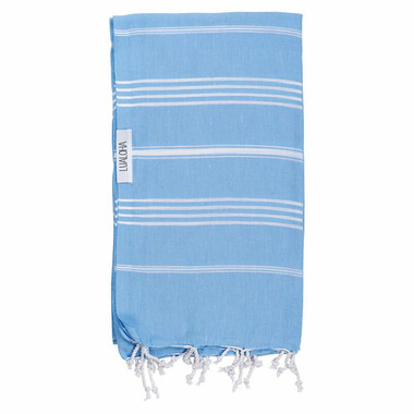 Lualoha Turkish Towel Classic Sky Blue