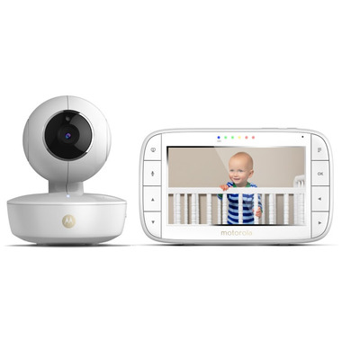 Motorola WiFi Dual Mode Baby Monitor 5 Inch Screen