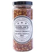 Moutarde Triple Crunch de Kozlik's