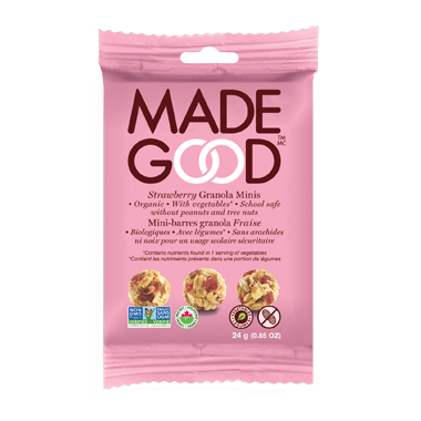 MadeGood Strawberry Organic Granola Minis