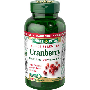 Nature\'s Bounty Cranberry Concentrate with Vitamin C and E