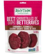 Rhythm Superfoods Cinnamon & Coconut Sugar Beet Chips