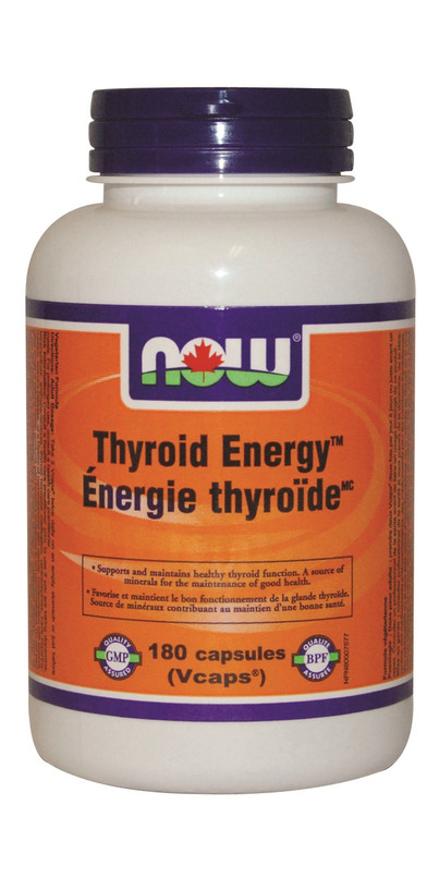 Buy NOW Foods Thyroid Energy at Well.ca   Free Shipping $35+ in Canada
