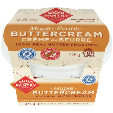 Good Pantry Buttercream Frosting Maple
