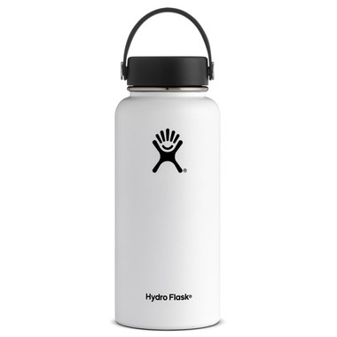 Hydro Flask Wide Mouth White