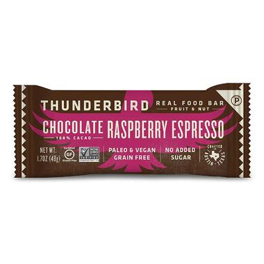 Thunderbird Real Food Bars Chocolate Raspberry Espresso