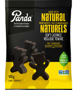 Panda Natural Soft Licorice Bears