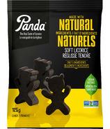 Oursons doux à la réglisse Panda Natural
