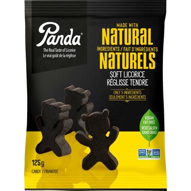 Panda Natural Soft Licorice Bears