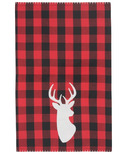 Now Designs Dishcloth Buffalo Check Deer