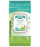 Aleva Naturals Lingettes instantanées pour bain Bamboo Baby