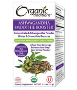 Organic Traditions Ashwagandha Smoothie Booster
