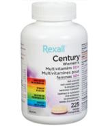 Rexall Century Multivitamines pour les femmes de 50 ans et plus
