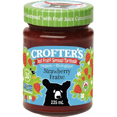 Crofter\'s Organic Strawberry Just Fruit Spread