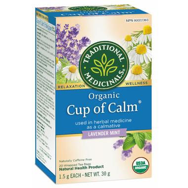 Traditional Medicinals Organic Cup of Calm Tea