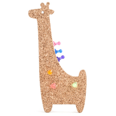 Kikkerland Giraffe Corkboard Magnet