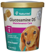 Naturvet Glucosamine DS Maintenance Soft Chews