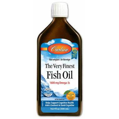 Carlson The Very Finest Fish Oil Orange Large