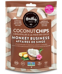 Healthy Crunch Monkey Business Coconut Chips